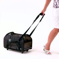 Unique Design Factory Price Durable Wheeled Cat Carrier Bag 2015