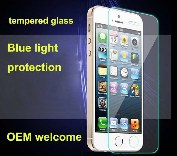 low cost promotion OEM tempered glass for i5/6/6s/6+