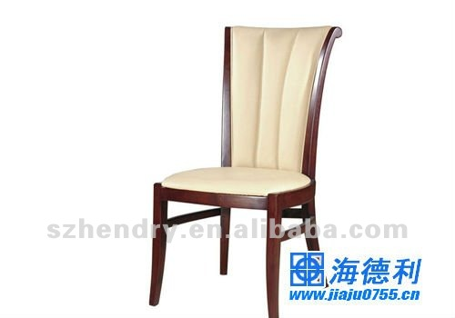 Solid wood restaurant chair