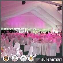 Huge aluminum curved tents for trade show which can be customized