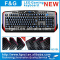 Factory directly sale!!! wired gaming keyboard arabic