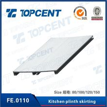 plastic PVC kitchen skirting board