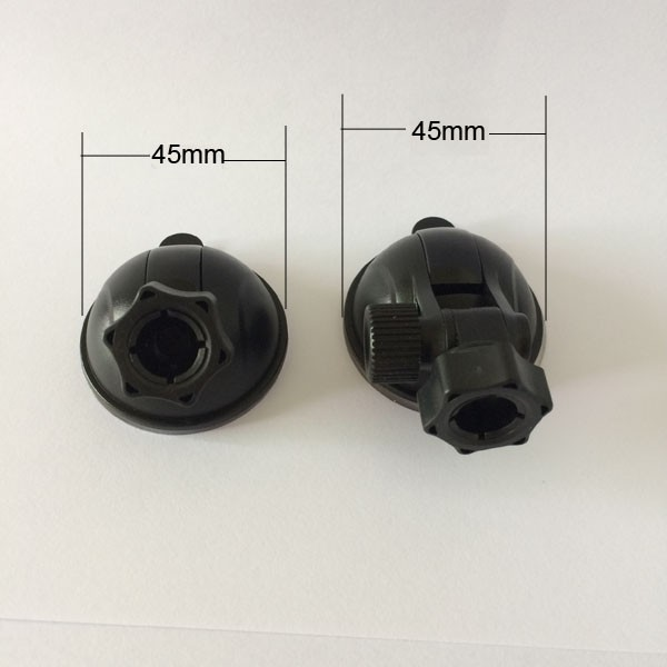 Universal car windshield glass moving Mount Part 45mm Suction Cups for ballhead in 12mm diameter