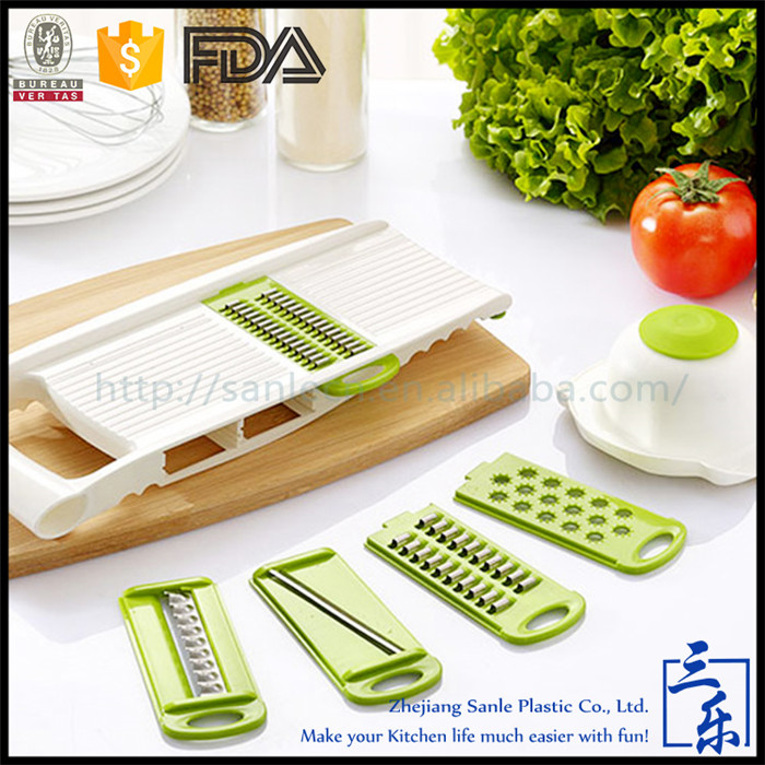 High performance manual kitchen tool muti function vegetable cutter slicer chopper