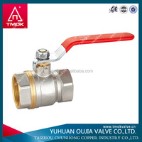 oil valve yuhuan copper ball cock valve with stainless steel long handle manufacturers