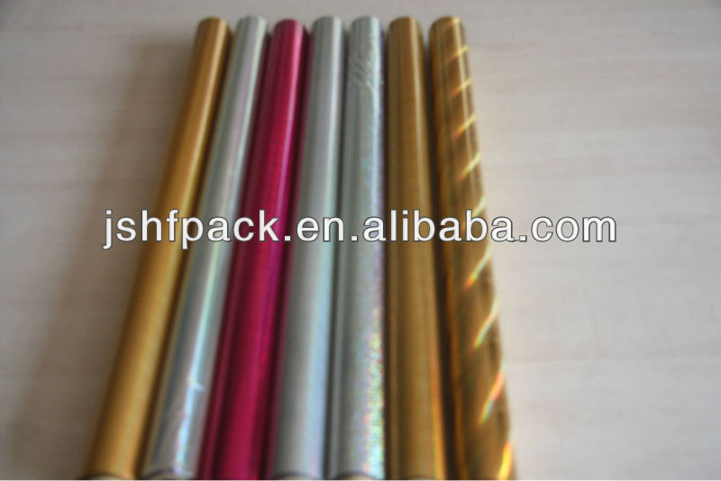 kinds of hot stamping foils for cigarette case tipping paper of cigarette