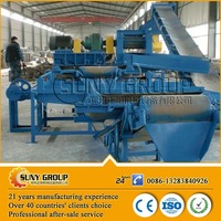 Environmental Hot Selling Scrap Rubber Tires Recycling Machine Plant