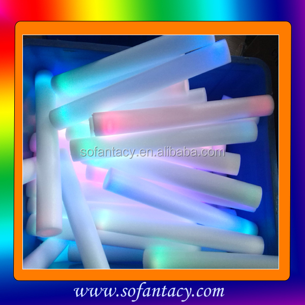 New LED Foam Stick/LED Foam Flashing Light Stick/LED Foam Glow Sticks China Manufacturer