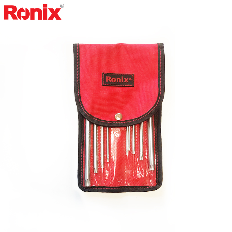 Ronix Rh-2023/Rh-2024 9 Pcs Dài Torx Hex Key Set