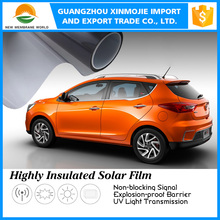 High heat insulation automobile 2ply car front/side/back window tint film/car solar tint film