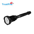18000LM outdoor flashlight TrustFire AK-91 CREE led flashlights rechargeable 26650 battery with switch