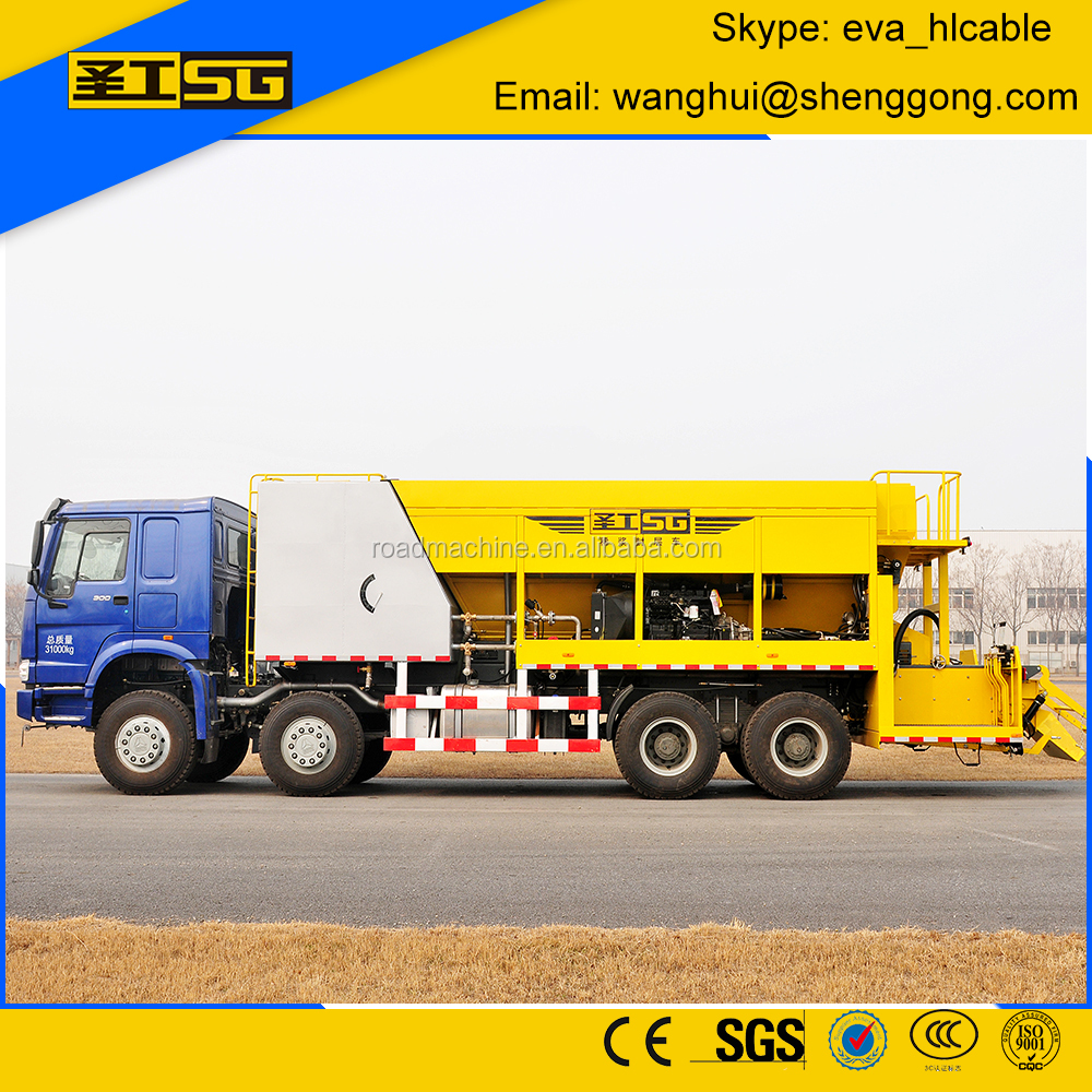 Micro-Surfacing HGY5311TFC Asphalt Slurry Seal Machine