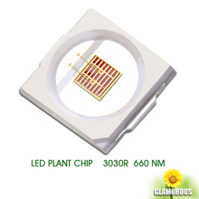 Hot sell 365nm 380nm 395nm 400NM 420NM 460NM 660NM 730NM 1W 3030 UV Smd Led Chip Diode Source