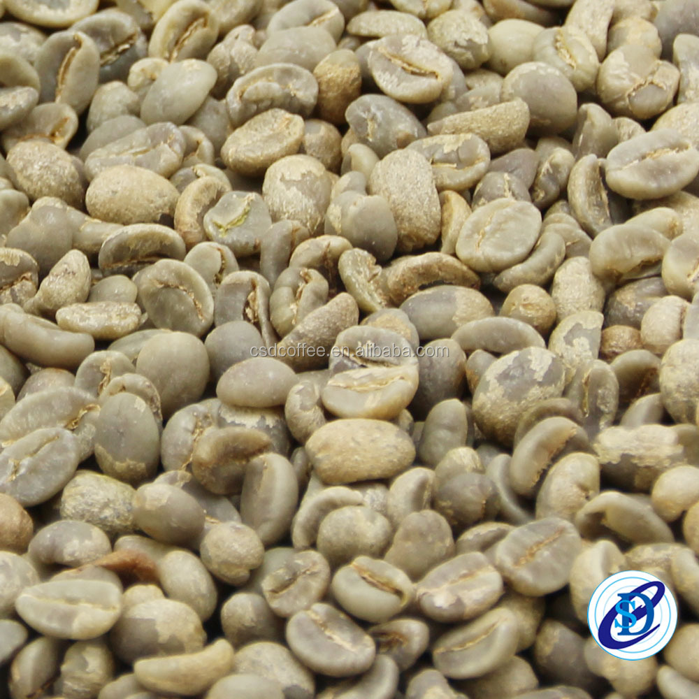 Price of raw coffee beans Arabica coffee bean from Yunnan China