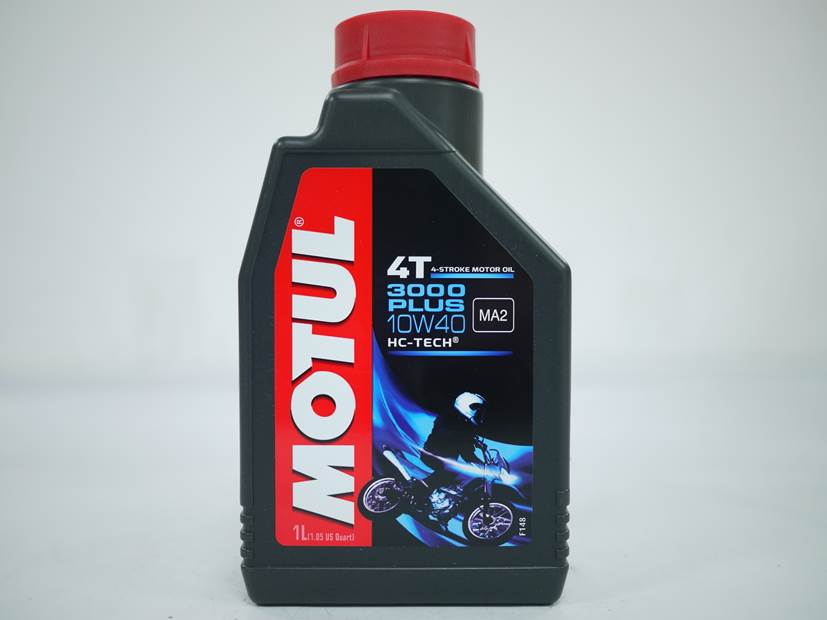 Lubricant for 4 stroke motorcycle engine MOTUL 4T 3000 PLUS 10W-40