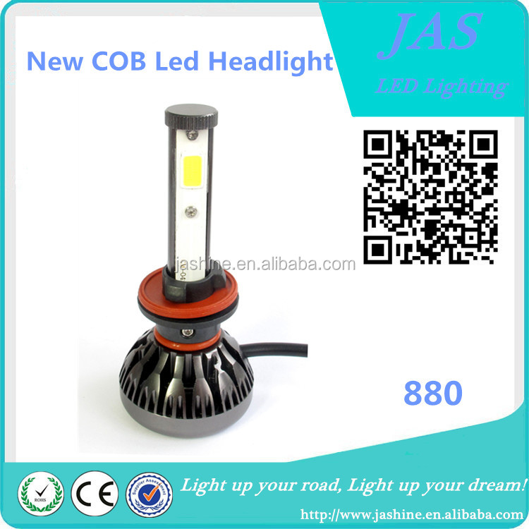 Professional Manufacturer H4 H13 H13 6000K Double beam No-radio interference Non-polar COB led headlight