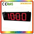 hot sales 7- segment high quality stadium 5 inch 4 digital indoor rs232 led digit display