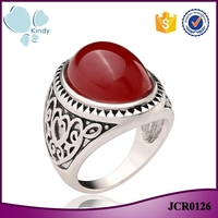 Yiwu wholesale imitation jewelry latest big gemstone finger ring designs for girls