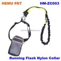 2017 hemu retractable dog leash with double protection hands free dog leash for walking run pet