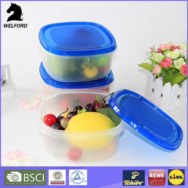 hot selling 100% food grade high quality custom plastic container