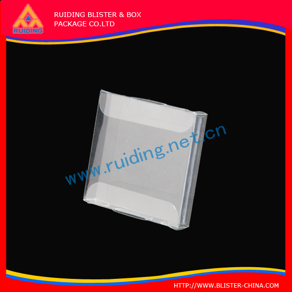 manufacturer PVC Box to cell phones caps/iphone case packaging