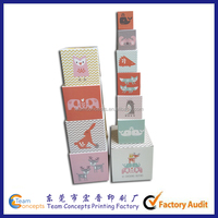 Custom Printing Building Stacking Blocks Toy