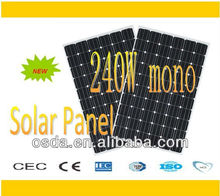 240w import-export solar panel pv