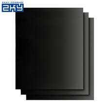 400*330*0.2mm Non stick PTFE BBQ Liners Black Cooking Sheet Oven Liner Baking Mat Grill Foil Barbecue Liner
