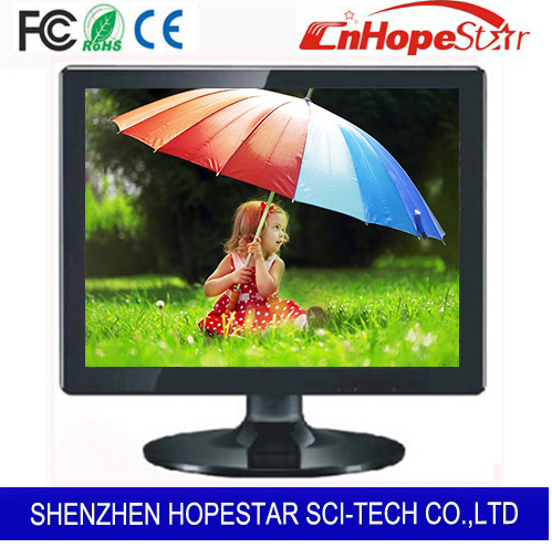 CE approved 15 inch computer moniter touch screen monitor with lower price