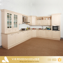 Hangzhou Vermont Warm Color Free Design PVC Membrane Kitchen Cabinet Vinyl Wrap
