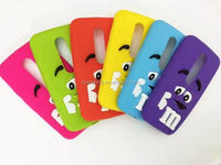 Chocolate beans silicone case back cover for Moto G3