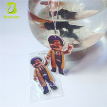 Car Handing Air Freshener of football Shoe Shape Hanging for world cup gifts car air fresherner