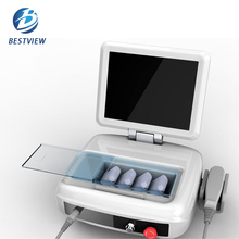 Portable High Intensity Ultrasound Face Lift Skin Tightening Wrinkle Removal Machine