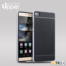 2016 new arrival high quality hybrid silicone case for huawei ascend p8 lite