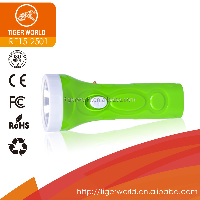 most powerful flat led diving rechargeable flashlight