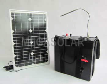 600W Portable Solar Panel Power Kit System MS-600PSS
