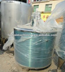 1600L Liquid Chemical Stainless steel Heating mixing tank