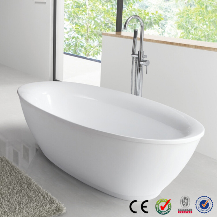 Cheap freestanding small bathtub buy bathtub for Cheap free standing tubs
