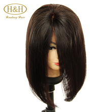 unprocessed virgin remy full lace brazilian human hair wig