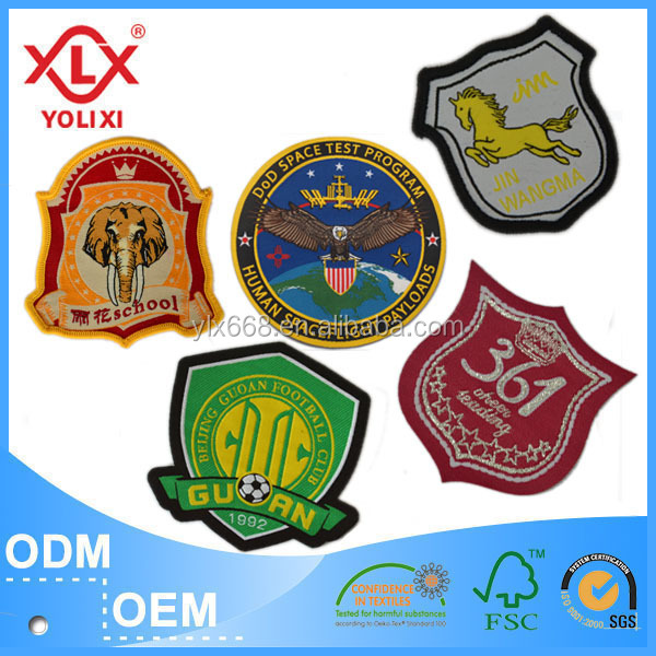 woven badges patches
