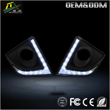 LED Daytime Running Light for Toyota Corolla Lamp Car fog lamp with turn signal