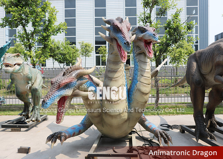 Remote Control Dragon Model Outdoor Playground Equipment Dragon