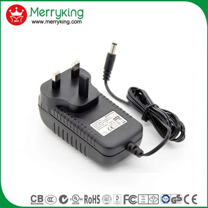 Input 100-240V AC Outout 24V 1A DC power supply without housing for electronics
