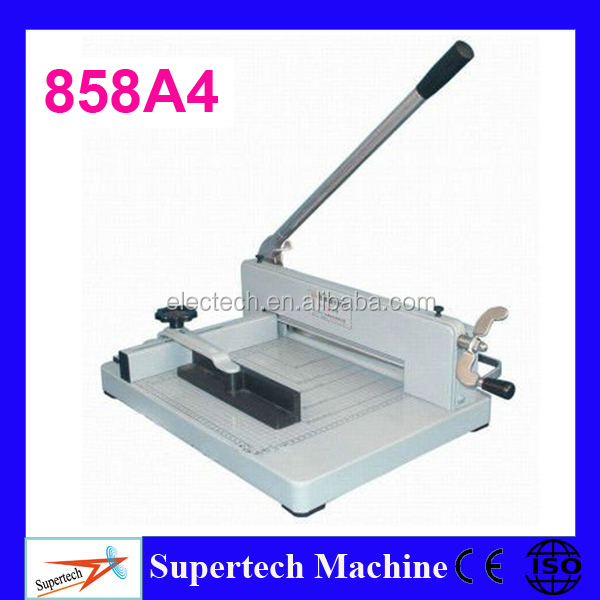 858 A4 Hand Operated Second Hand Paper Cutting Machine
