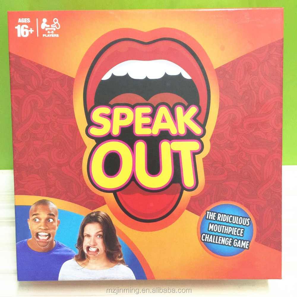 where can i buy speak out game?please come to Mianyang Huike .