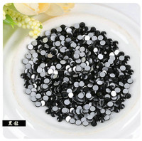 Crystal Round Strass Hot Fix Rhinestone Flat Back Crystals for phones DIY loose beads