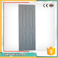 HDF moulded door with white prime coating