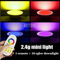 Dimmable 2.4G Mi-light 12W SMD5630 RGBW LED Dowlight+Wireless RF Remote Controller