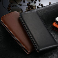 PU Leather Magnetic Closure Top Flip Phone Case for iphone 6 plus