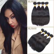 Guangzhou No Chemical Treated Full Cuticle 10 12 14 16 18 20 Inch Top Grade Brazilian Hair Attachment